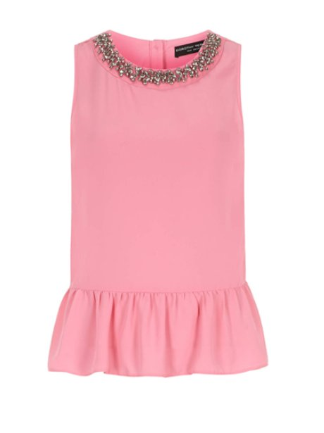 Dorothy Perkins Peplum Top