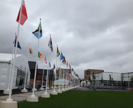 Glasgow 2014 Athletes' Village
