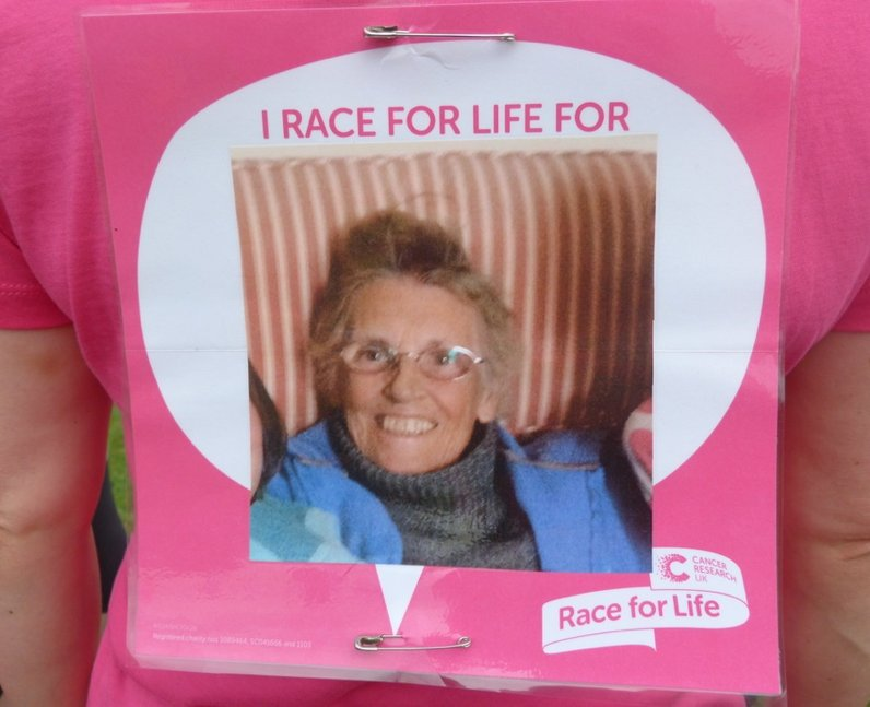 Heart Angels: Epping Race for Life - Why You Did I