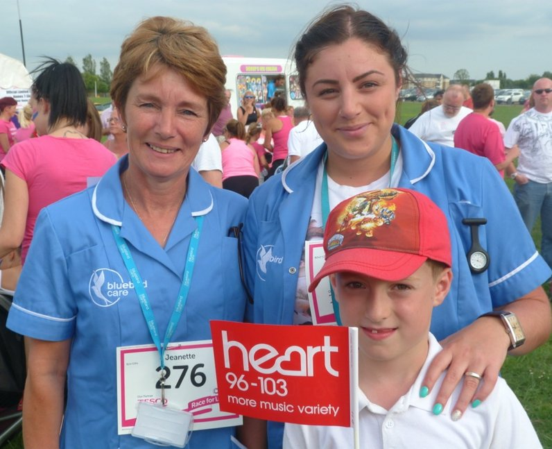 Heart Angels: Race For Life Epping Part 1 (16 July