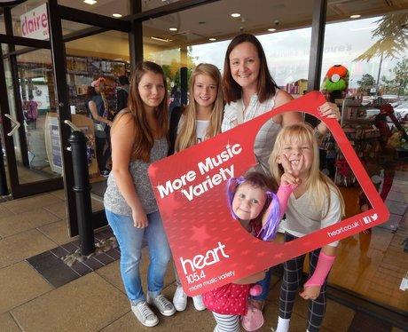 Heart Angels Visit Cheshire Oaks
