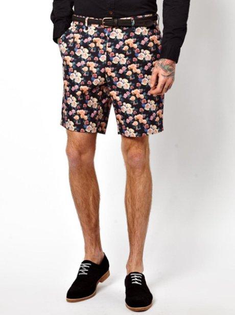 Asos Floral Shorts
