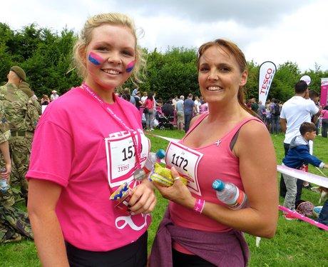 Race For Life 2014 - Stevenage - Finish Line & Med