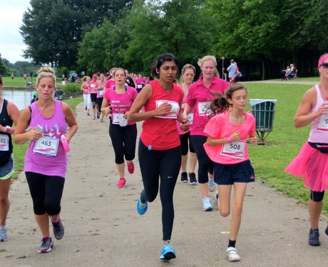 Race For Life 2014 - Stevenage - The Race