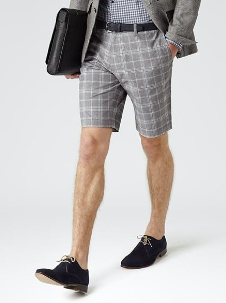 Reiss Checked Shorts