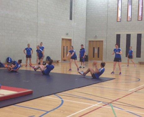 Team Scotland Netball Training