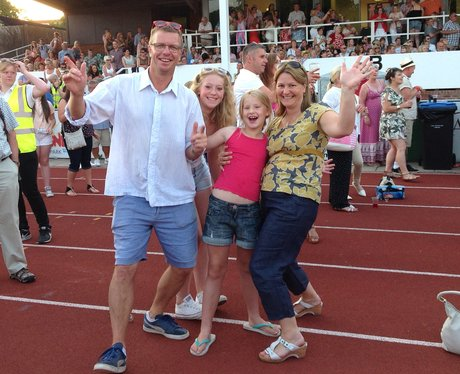 Cool family dancing!