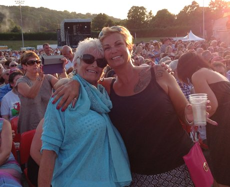 Tom Jones' loyal fans in Colwyn Bay