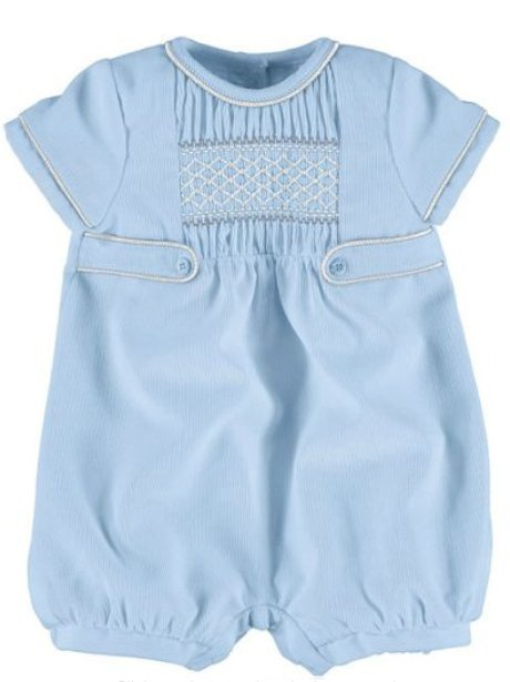 Boys blue romper