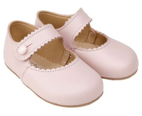 Girls pink pre walker shoes