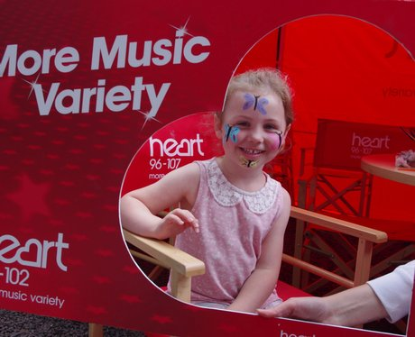 Heart Angels: Alnwick Splash Event