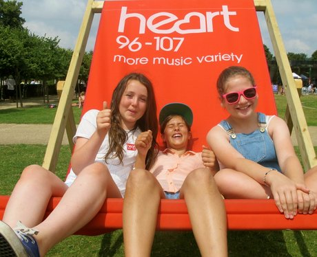 The Heart Angels headed to the Reigate cycle festi