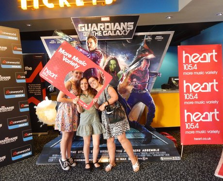 Heart Angels: Guardian Of The Galaxy Premiere Asht