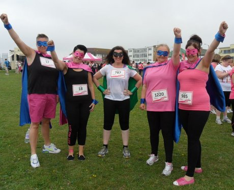 Heart Angels: Margate Race For Life - Pre-Race (20