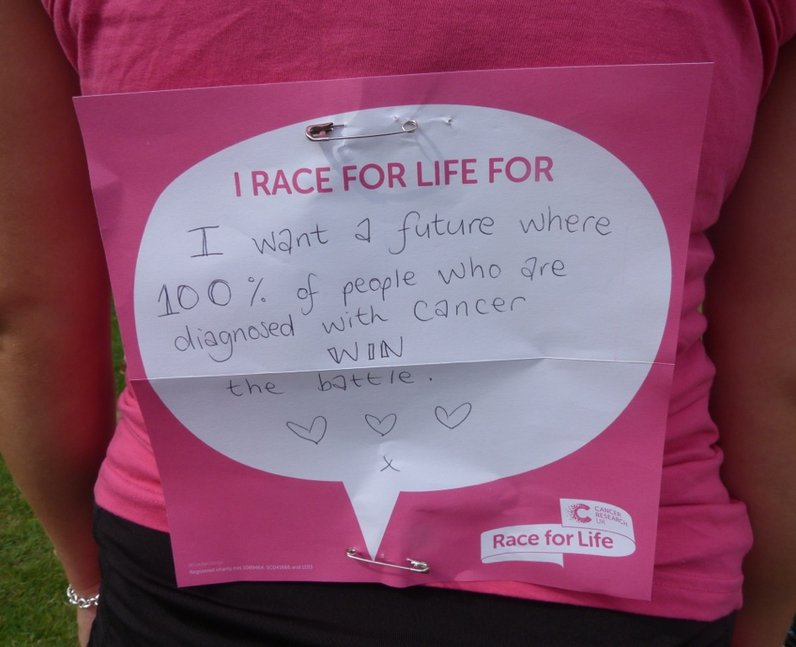 Heart Angels: Race For Life Colchester MESSAGES (2