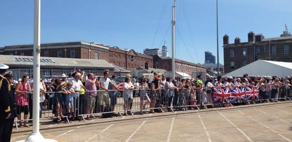 HMS Illustrious homecoming