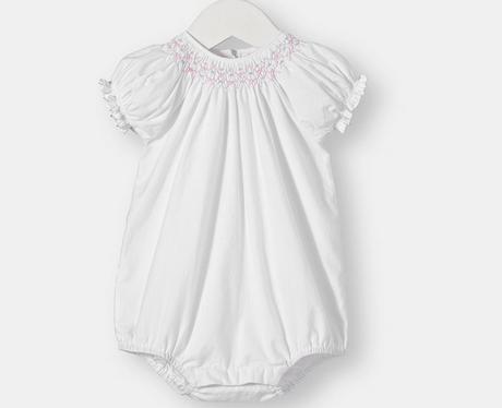 Baby girl romper suit