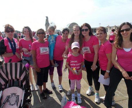 Portsmouth Race For Life 2014