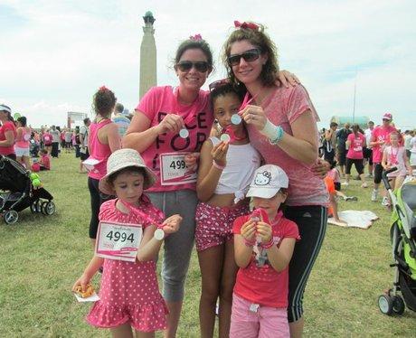 Porstmouth Race For Life 2014