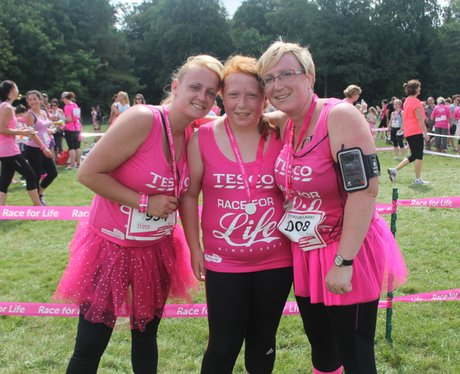 Race For Life Cirencester - The Finishers