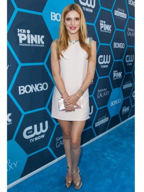 Bella Thorne red carpet