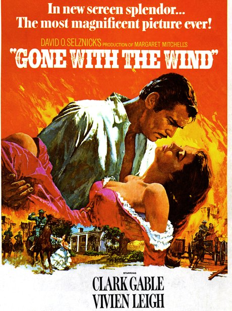 Gone With The Wind Iconic sexy film poster
