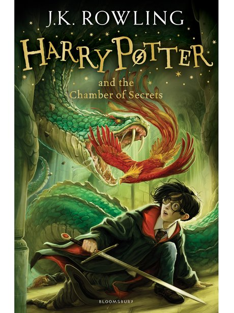 Harry Potter Chamber of Secrets new covers
