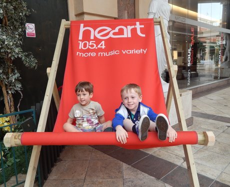 Heart Angels at Barton Square Beach, Trafford Cent