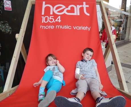 Heart Angels at Barton Square Beach, Trafford Cent