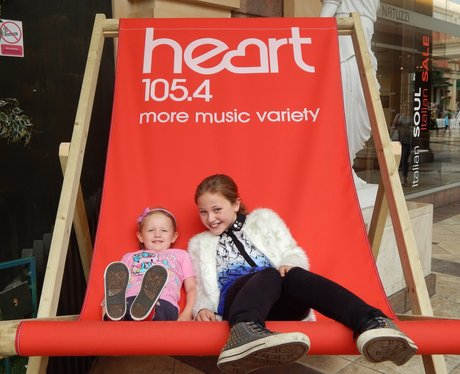 Heart Angels: Barton Square Beach, Trafford Centre
