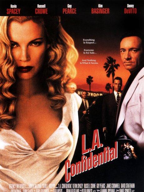 Iconic sexy film poster LA Confidential