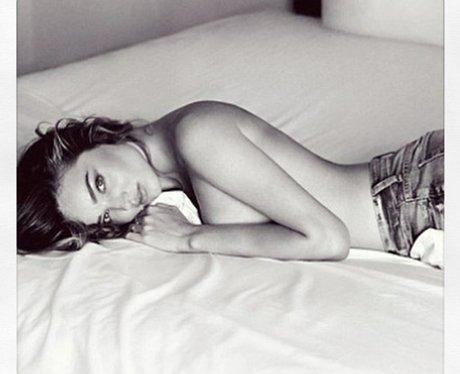 Miranda Kerr jeans campaign