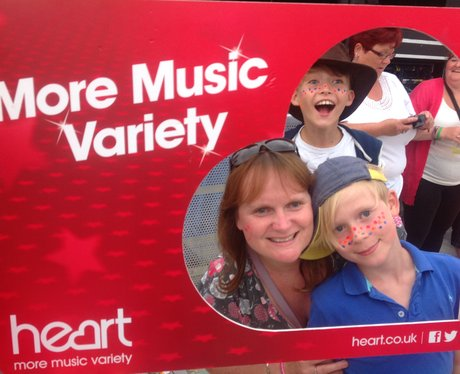 Heart listeners enjoying a day out in Colwyn Bay!