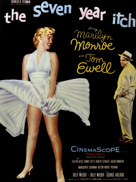 The Seven Year Itch Iconic sexy film poster