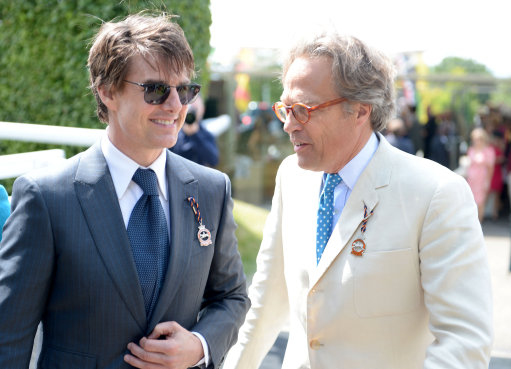 Tom Cruise at Glorious Goodwood