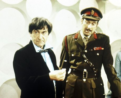 Patrick Troughton as Dr Who's 'other self'.