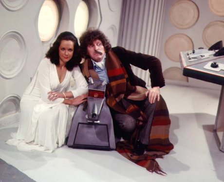 Tom Baker as The Doctor in Doctor Who