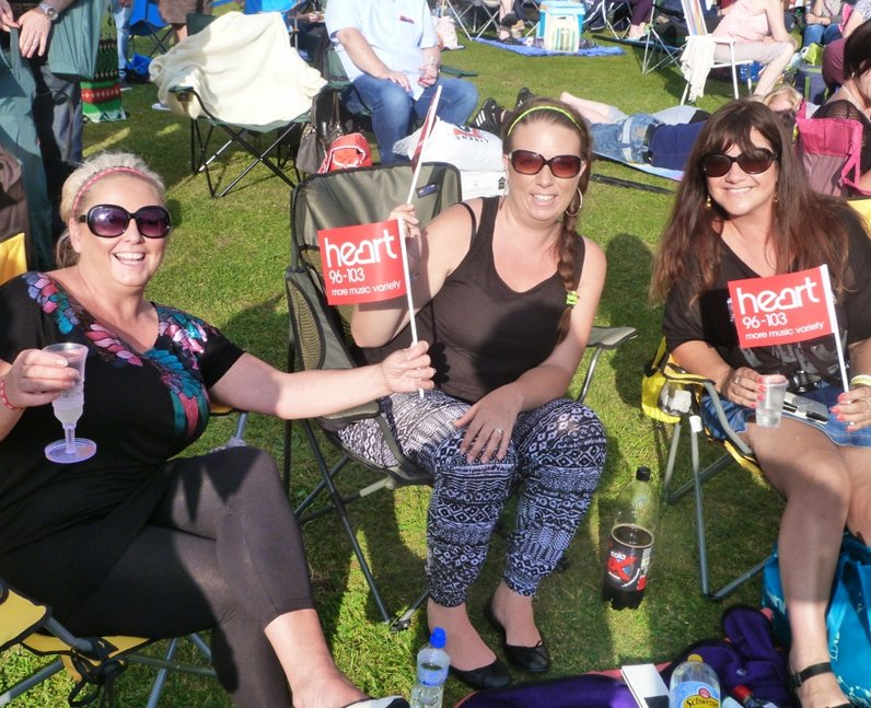 Heart Angels: Audley End 80's Night (2 August 2014