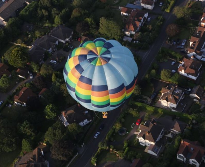 Heart takes to the skies at the Bristol Internatio