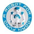 Robot for Logan fund logo