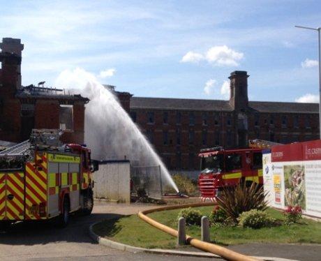 St Crispins Fire Northampton