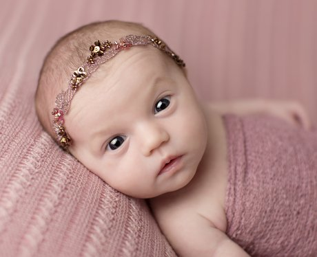 Newborn And Already Achieved Princess Status Adorable Newborn