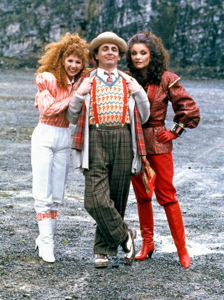 The Doctor with Mel and the Rani
