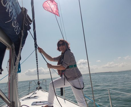 Zoe Hanson Sailing