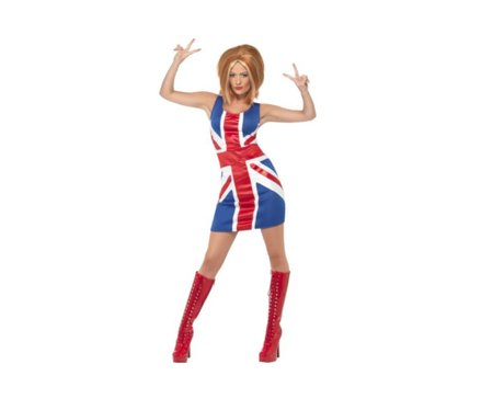Ginger Spice Union Jack Dress
