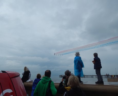 Heart Angles at Blackpool Air Show - Part Two