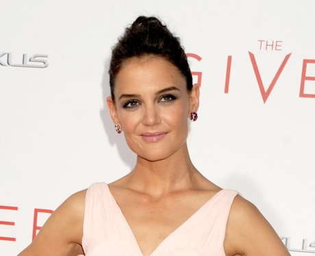 Katie Holmes - Giver red capret