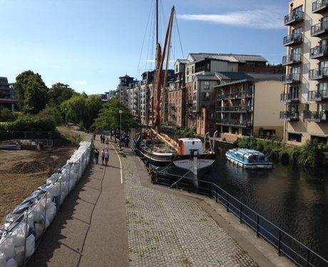Sailing Ships In Norwich