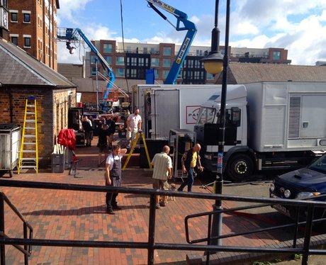 Gloucester Docks Filming