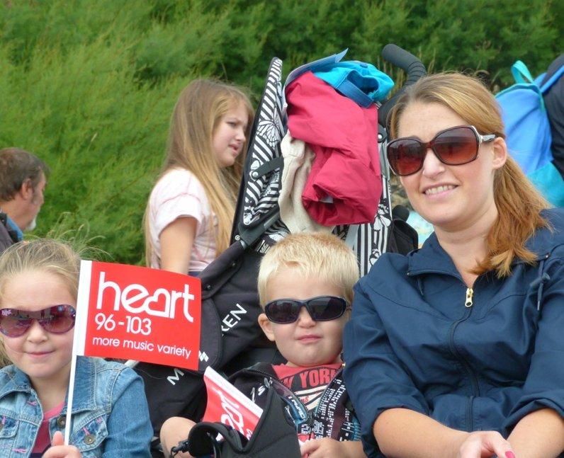 Heart Angels: Clacton Air Show (22 August 2014)
